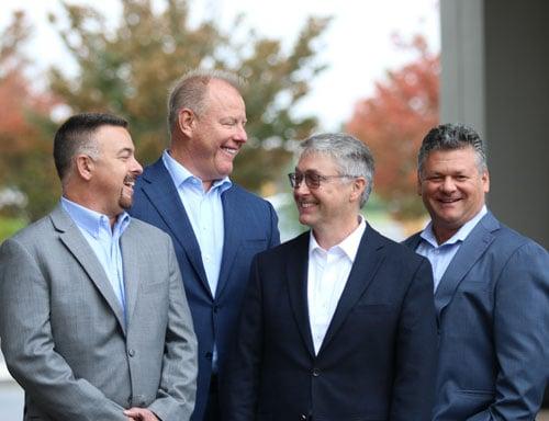 Ed Wargins, Greg Kroeger, Phil Nisbet, and Rich Eknoian