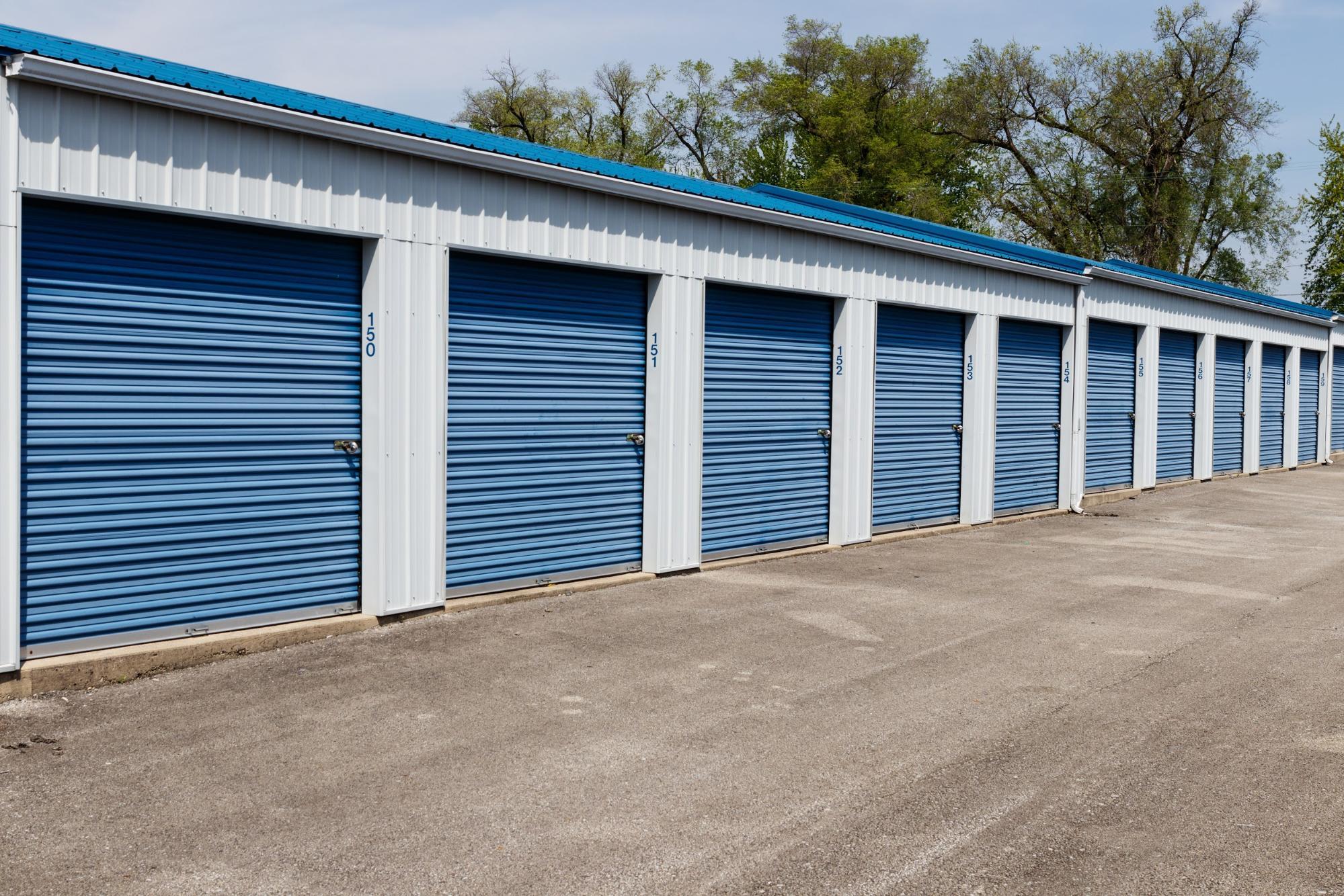 Blue Self Storage Units | World Insurance