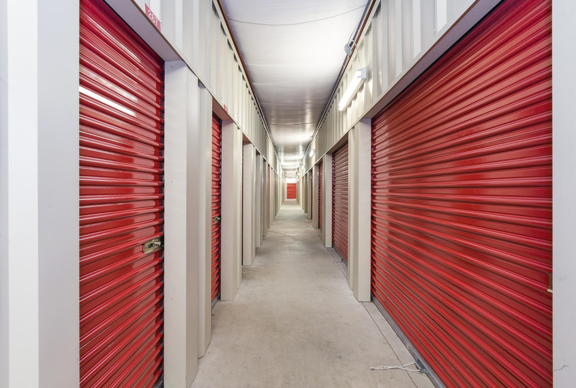 Red Self Storage Units | World Insurance