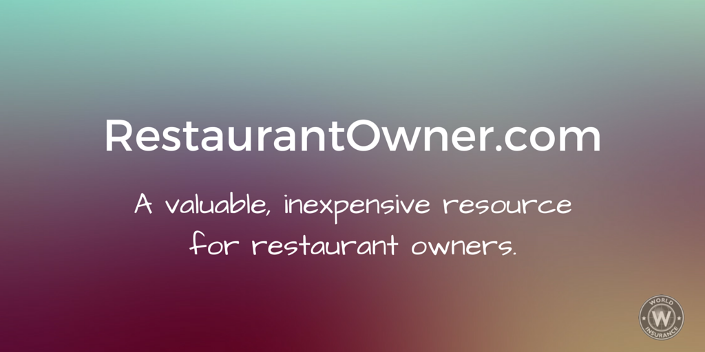 RestaurantOwner.com A valuable inexpensive resource for restaurant owners.