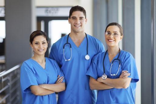 Medical facility staff