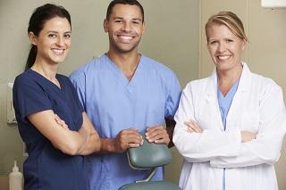 image of three doctors