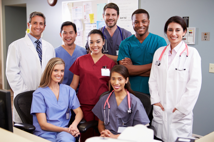 medical practice group photo