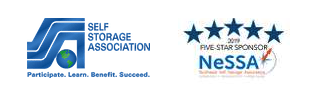 Self Storage Association - Participate. Learn. Benefit. Succeed. and 2019 Five-Star Sponsor NeSSA